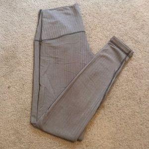 High waisted lululemon leggings, size 10